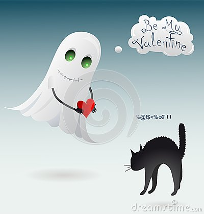 St. Valentines Day greeting card