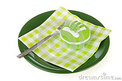 St. van Cupcake patricks dag