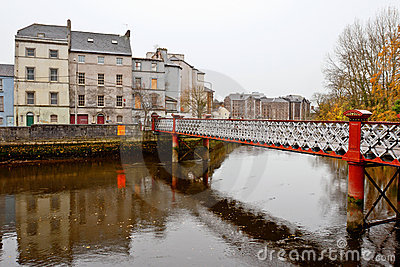 St. Vincent s footbridge. Cork, Ireland