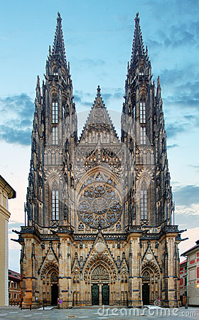 Free St. Vitus Cathedral In Prague Castle In Prague Stock Photos - 42911713