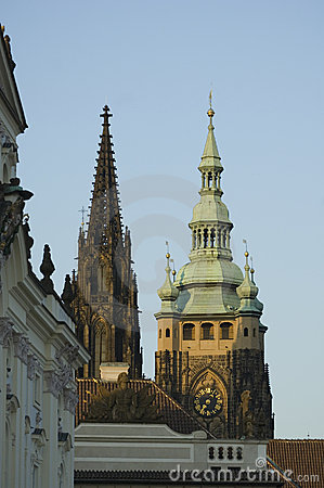 St. Vitus Cathedral spires
