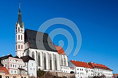 St. Vitus Church in Cesky Krumlov