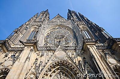St. Vitus gothic cathedral, Prague