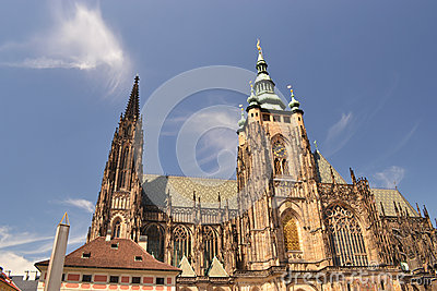 St Vitus in Prague - Czech Republich - Europe