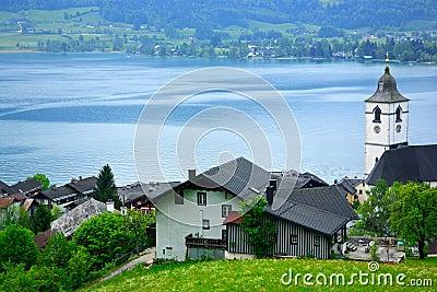St Wolfgang Lake,Austria