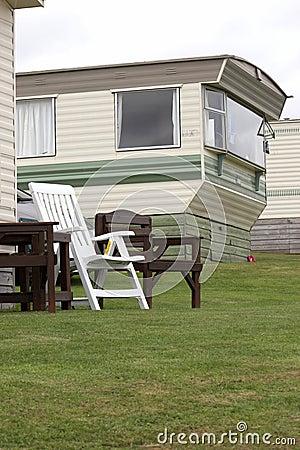 Sta-caravan in Pembrokeshire