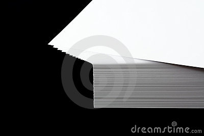 Stack of  A4 paper