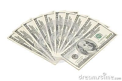 Stack american dollars