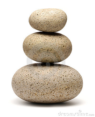 Free Stack Balancing Rocks Stones Stock Photography - 3379692