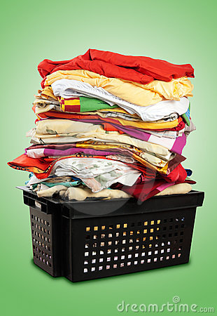 Stack of bed-clothes   Clipping paths