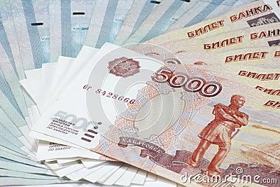 Stack of bond 5000, 1000