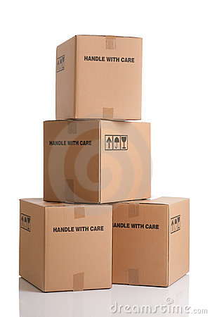 Stack Of Boxes Stock Photos Image 22799663