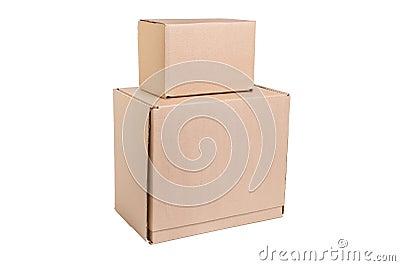 Stack of cardboard