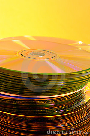 Stack of Cds