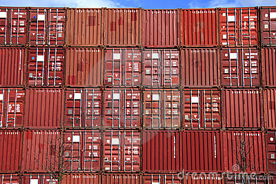Stack of container