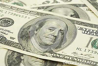 Stack of dollar bill
