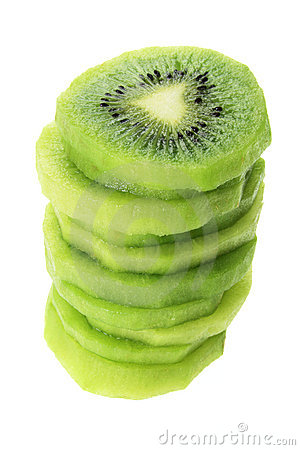 Stack of Kiwi Fruit Slices