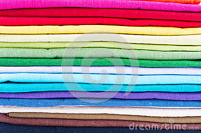 Stack of linen
