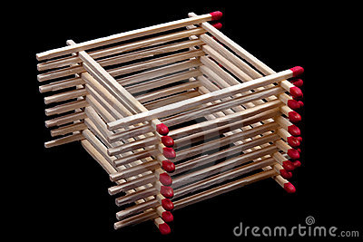 Stack of matches