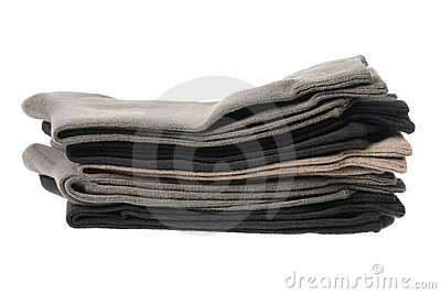 Stack of Men s Socks