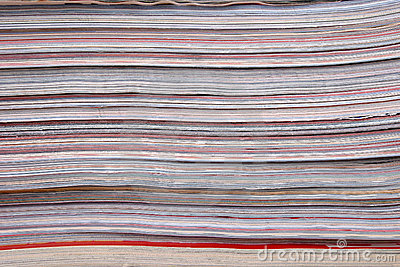Stack of the newspapers