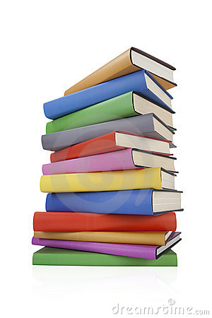 Free Stack Of Books Stock Image - 17843301