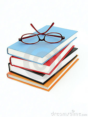 Free Stack Of Books Stock Image - 242781