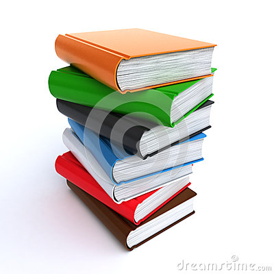 Free Stack Of Books Royalty Free Stock Images - 24686389
