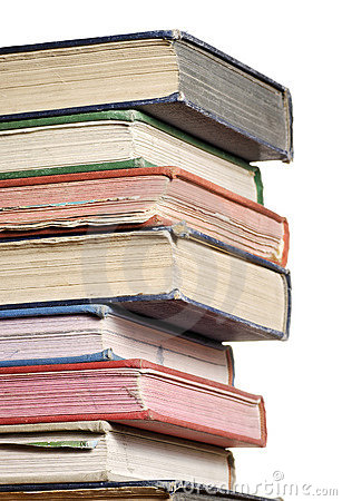 Free Stack Of Books Three Quarter Royalty Free Stock Images - 4767789