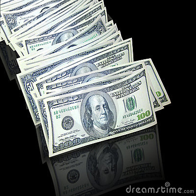 Free Stack Of Cash Royalty Free Stock Photo - 5232105