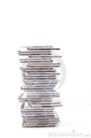 Free Stack Of CDs Stock Image - 73211
