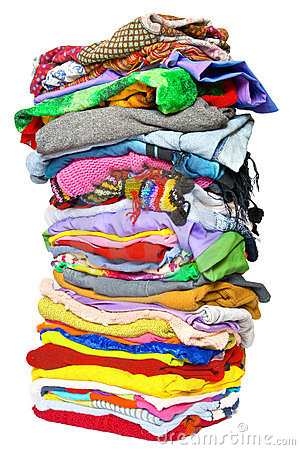 Free Stack Of Clothes Stock Images - 10704024