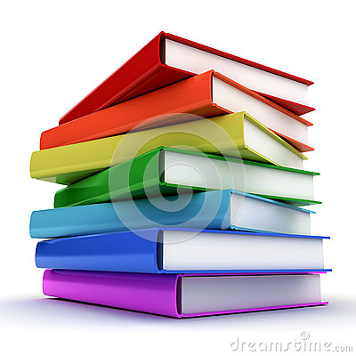Free Stack Of Colorful Books Stock Images - 30387504