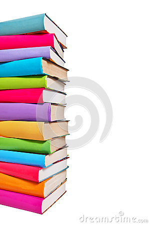 Free Stack Of Colorful Books Royalty Free Stock Photos - 34280418