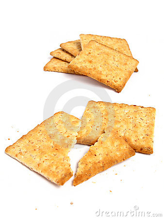 Free Stack Of Crackers Royalty Free Stock Photos - 5459428