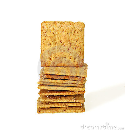 Free Stack Of Crackers Royalty Free Stock Photography - 7432777