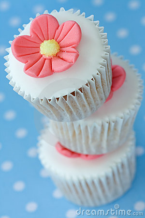 Free Stack Of Cupcakes Stock Images - 10597504