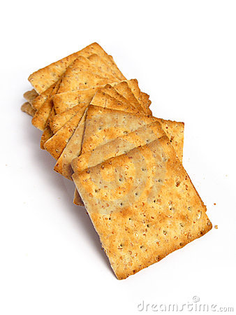 Free Stack Of Integral Crackers Royalty Free Stock Photos - 5459408