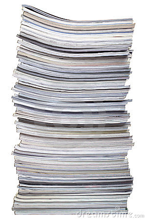Free Stack Of Magazines Stock Images - 7763064