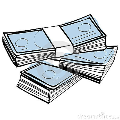 Free Stack Of Money Vector Royalty Free Stock Photo - 8493865