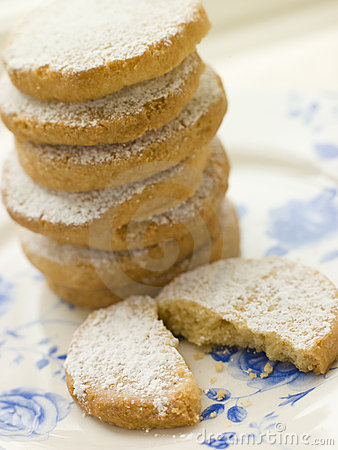 Free Stack Of Polvorones Biscuits Stock Photos - 5950393
