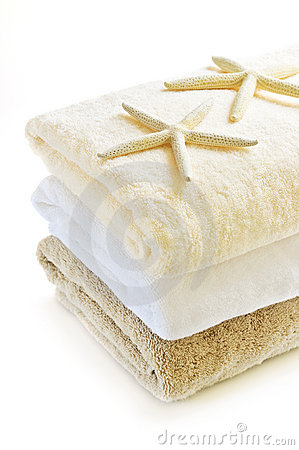Free Stack Of Towels Royalty Free Stock Photos - 6340528
