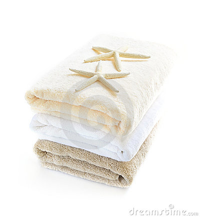 Free Stack Of Towels Royalty Free Stock Images - 6368909