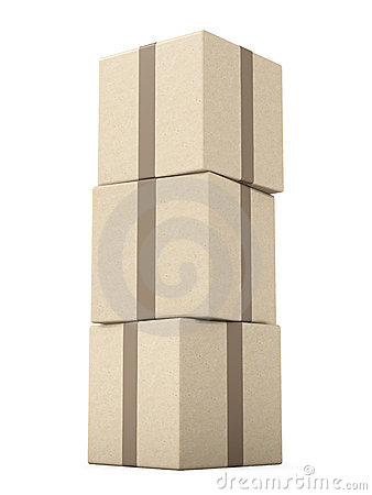 Stack of Packages