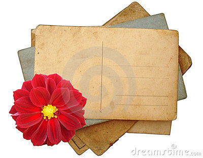 Stack Of Postcards, Photos Royalty Free Stock Photos - Image: 14206898