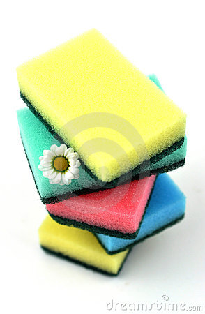 Stack of Scouring Pads