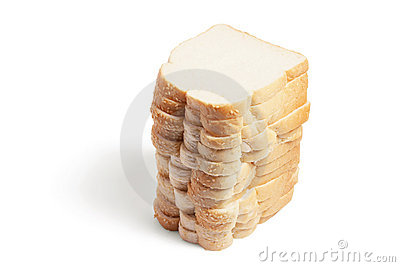 Stack of Sliced Bread