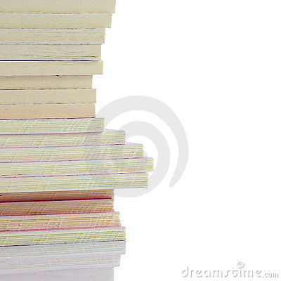 Stack of small books
