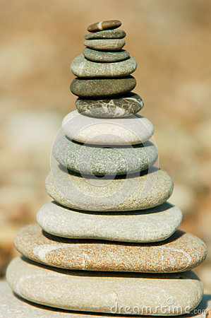 Stack of stones
