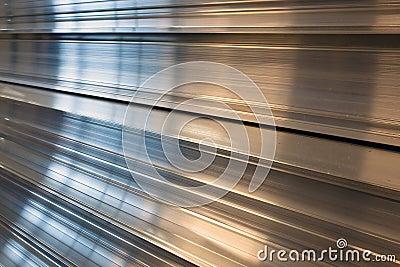 Stacked aluminum